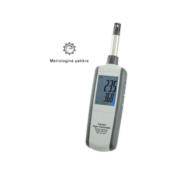 Termohigrometro su metrologine patikra TH-3321 nuoma
