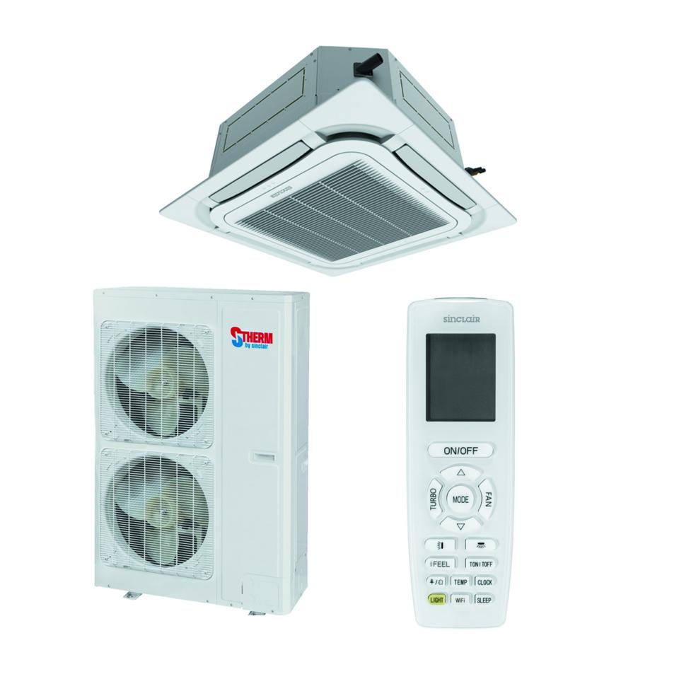 Kasetiniai oro kondicionieriai Sinclair UNI SPLIT