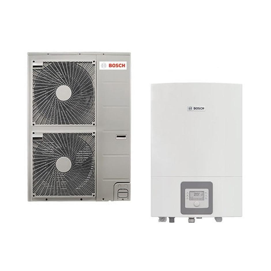 Oras-vanduo šilumos siurblys Bosch Compress 3000 AWS ODU Split 11t / AWES 8-15