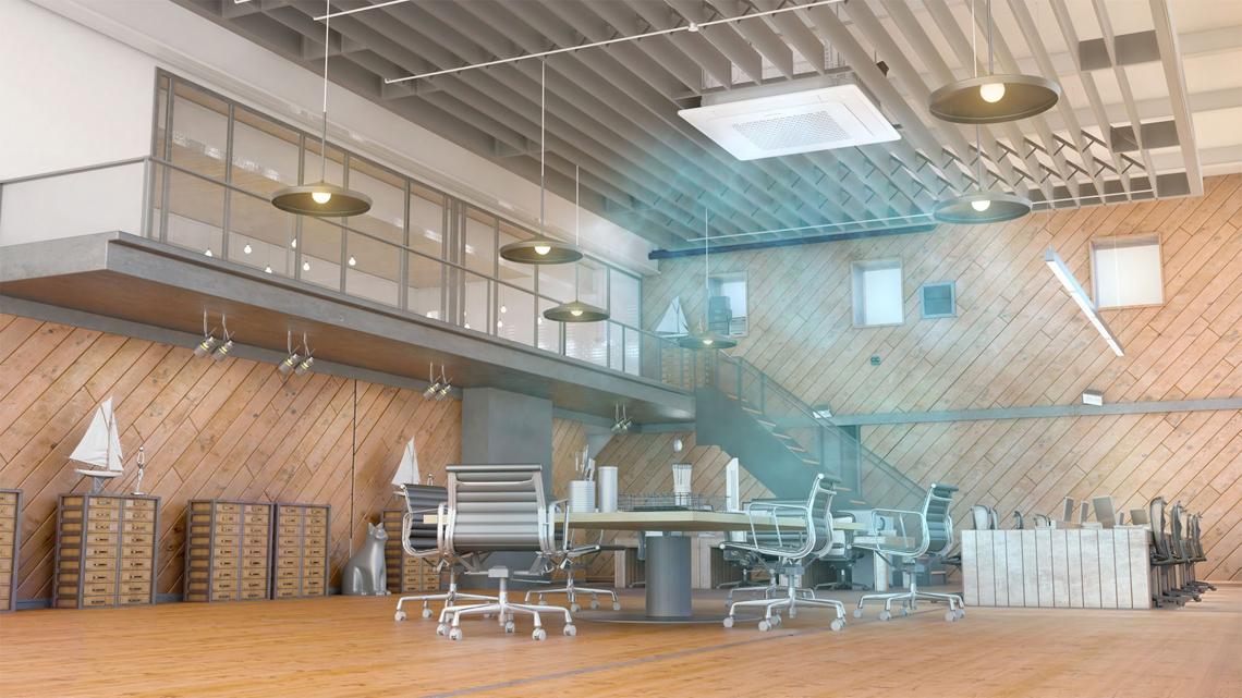 samsung oro kondicionieriai biurams, restoranams