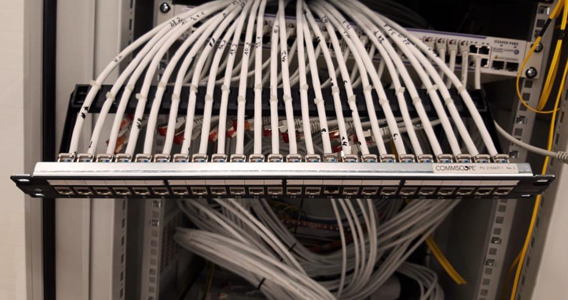 kompiuterinio tinklo irengimas