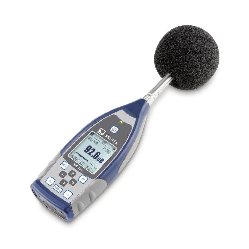 Profesionalus garso matuoklis SAUTER SW 1000