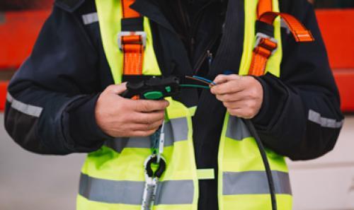 Atlikti elektros instaliacijos darbai kotedžų kvartale Stokholme