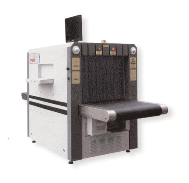 Rentgeno sistema bagažo, siuntų tikrinimui PKI 7235