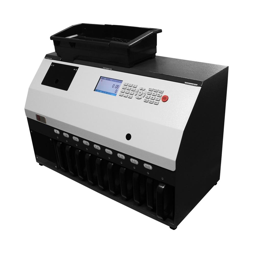 Monetų skaičiavimo ir rūšiavimo aparatas CCE 4400