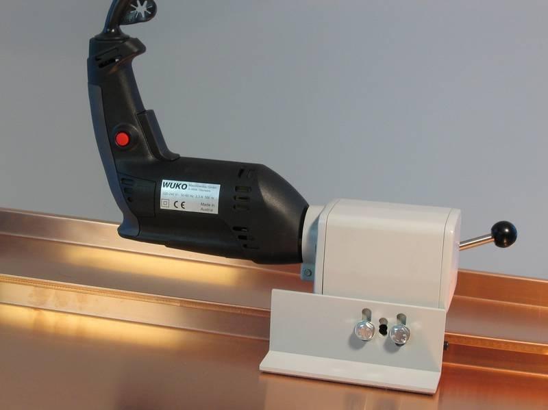 Kraštų valcavimo įrankis WUKO Roof Seaming Machine 1006