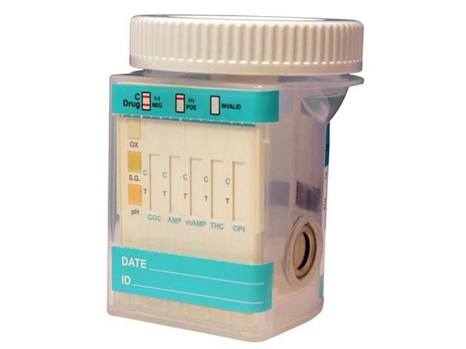 Mėginio indelis narkotikų testui su priemaišomis (25 vnt.)