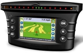 GPS navigacijos žemės ūkio technikai